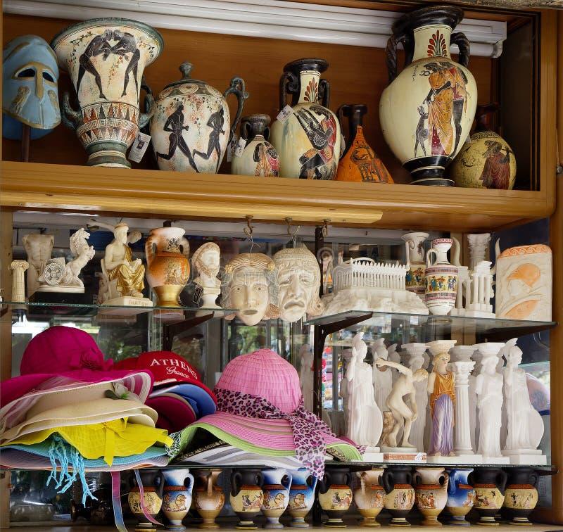 Athens, Greece, Souvenirs. royalty free stock image