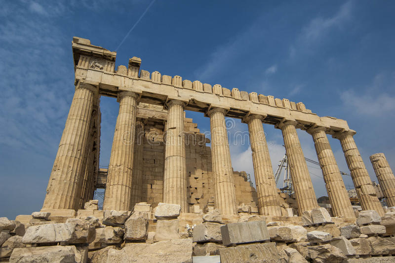 ATHENS/GREECEThe Parthenon στοκ εικόνες