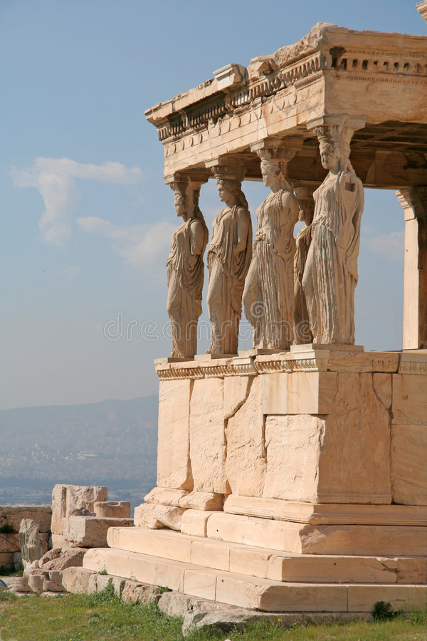athens landmarks arkivfoto