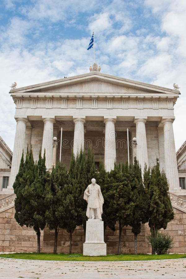 Download Athens National Library stock image. Image of historical - 14861945