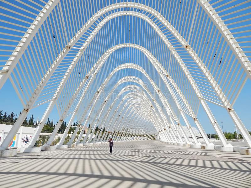 Athens Olympic Sports Complex in Greece stock photography