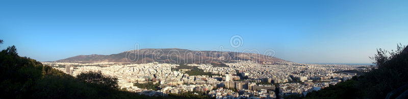 Download Athens panorama stock image. Image of angle, building, athens - 411