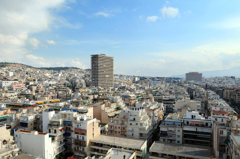 Download Athens Panorama stock photo. Image of hill, office, development - 10244012