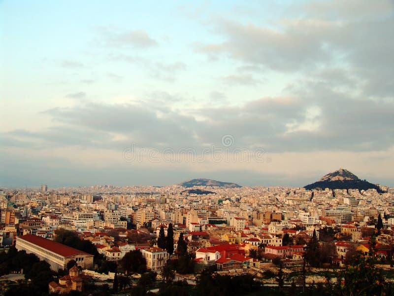 Athens view 11 royalty free stock photos