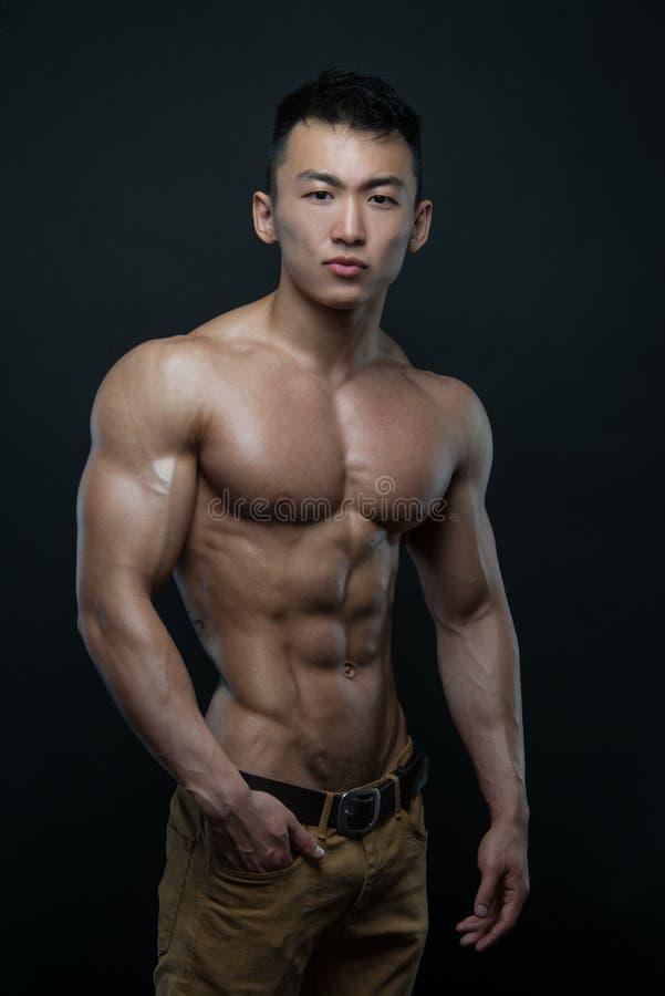 Athlète coréen photos libres de droits