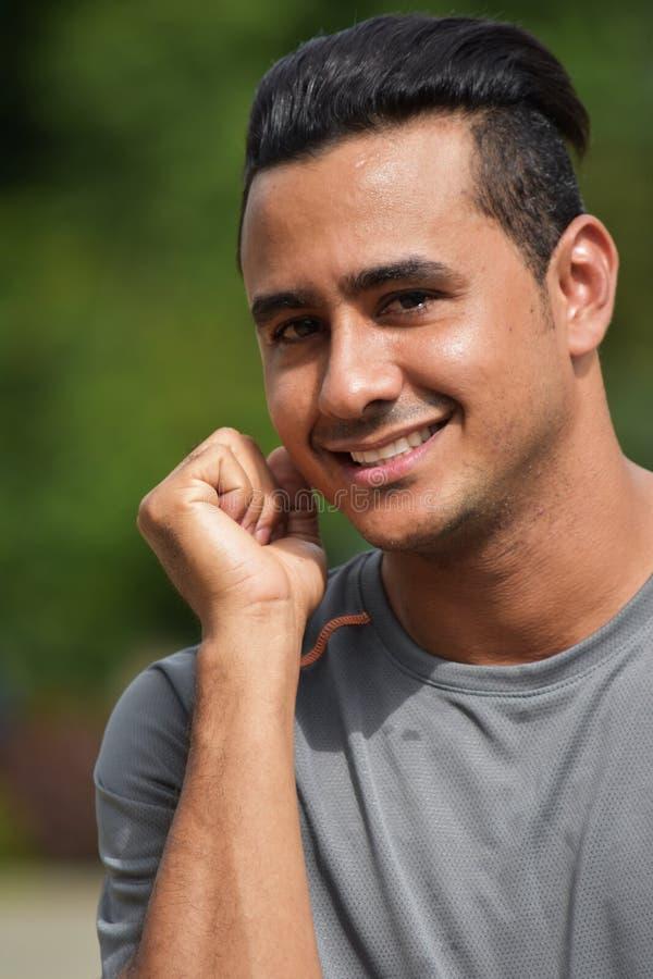 Athlète heureux Person photo libre de droits