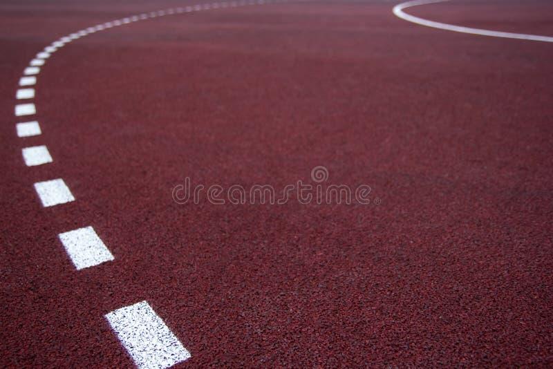 Athlète Track ou fonctionnement avec scénique gentil photo stock