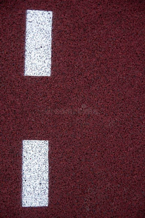 Athlète Track ou fonctionnement avec scénique gentil image stock