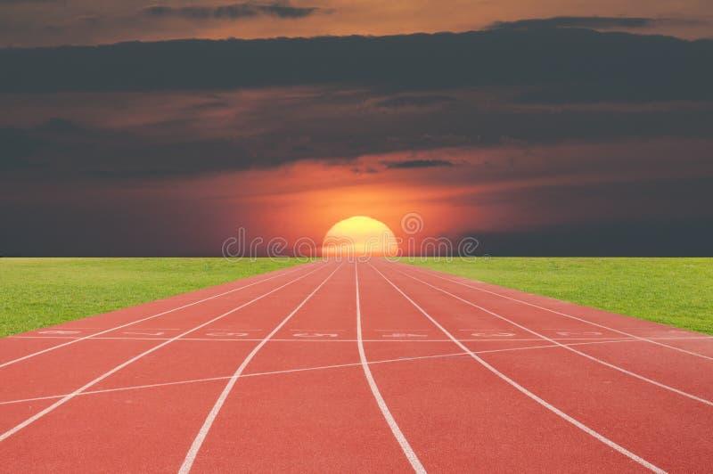 Athlète Track ou voie courante photo libre de droits