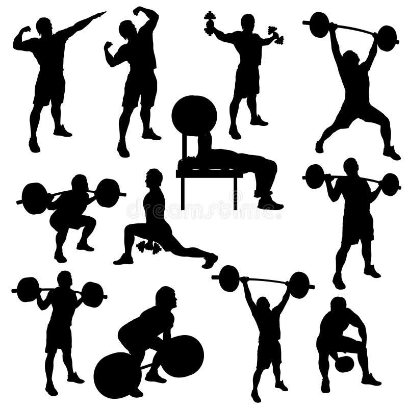 Athlete stock illustration