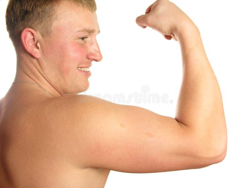 Download Athlete biceps στοκ εικόνα. εικόνα από ηθοποιών, άτομο - 386485