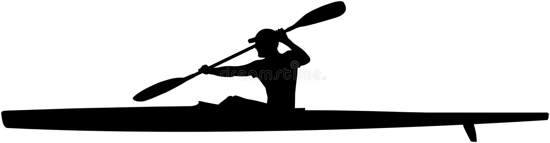 Download Athlete Kayaker Sport Kayak Stock Vector