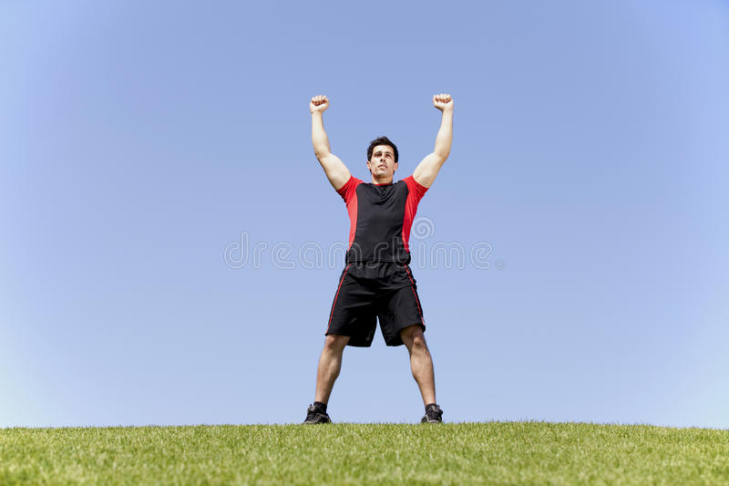 Download Athlete victory stock photo. Image of fitness, lifestyle - 20054948