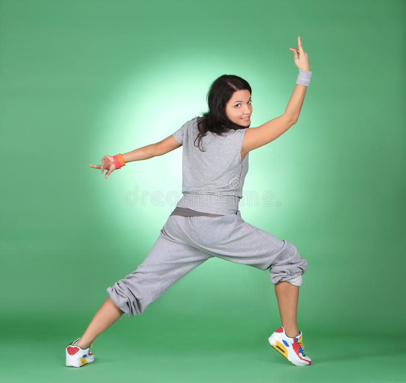 Download Athlete Woman Doing Fitness Exercise. Stock Photos - Image: 23690493
