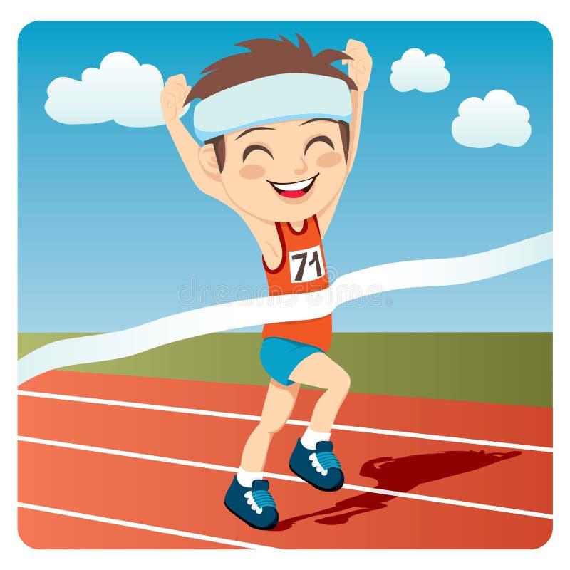 Athleten-Mann stock abbildung