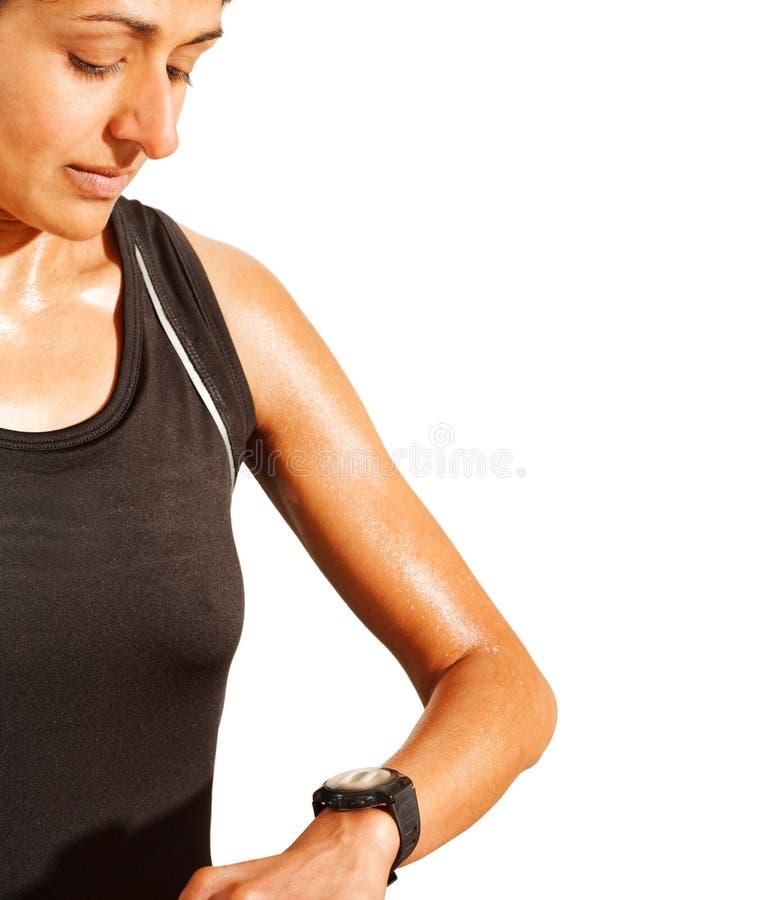 Athletentraining stockbild