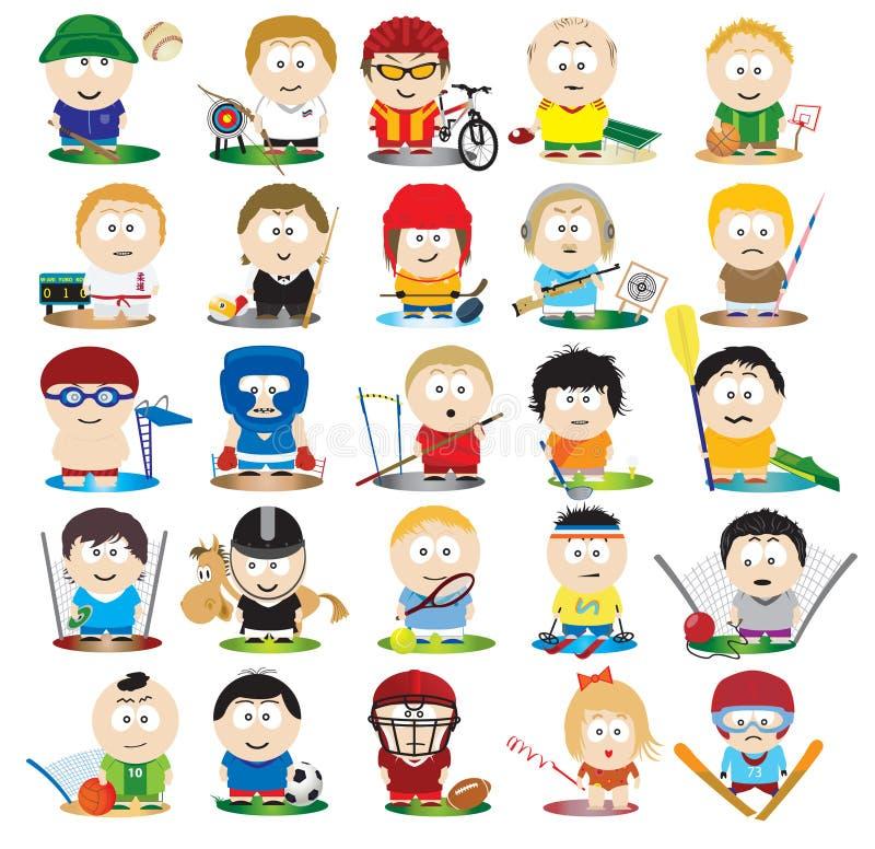 Download Athletes Royalty Free Stock Photo - Image: 18635285