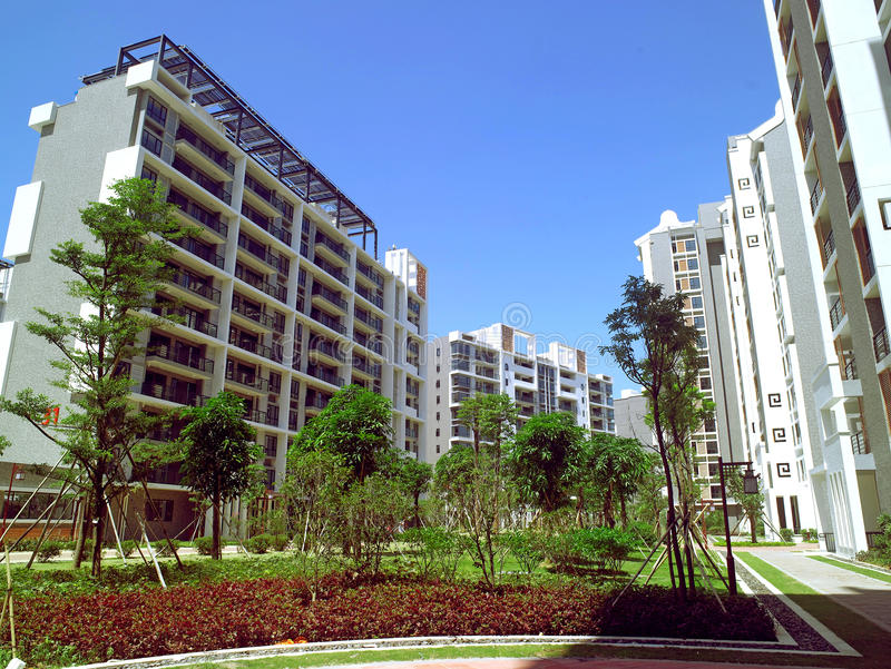 Download Athletes Village stock photo. Image of corporate, downtown - 28268956