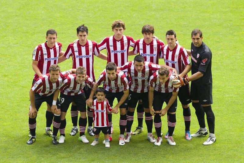 Athletic Club players