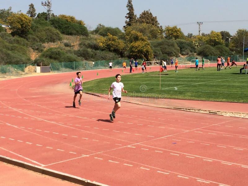 Athletic Contest stock photo