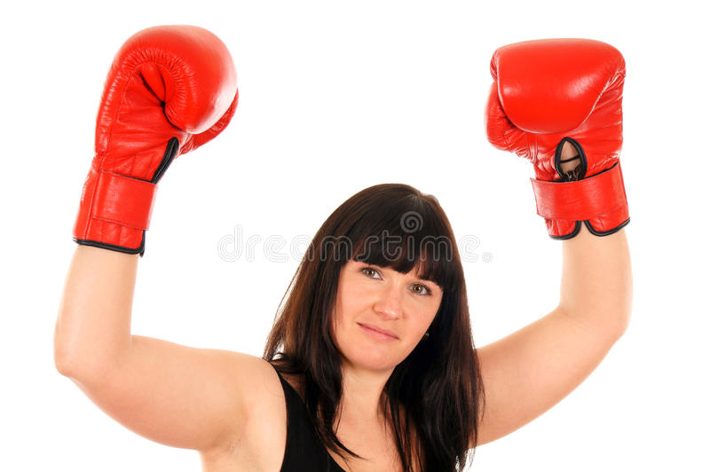 Download Athletic girl stock image. Image of active, leisure, boxing - 24864585