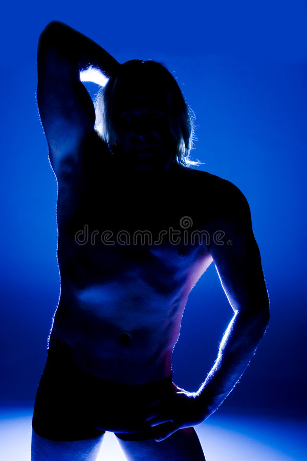 Download Athletic Male Pose Stock Photos - Image: 520953
