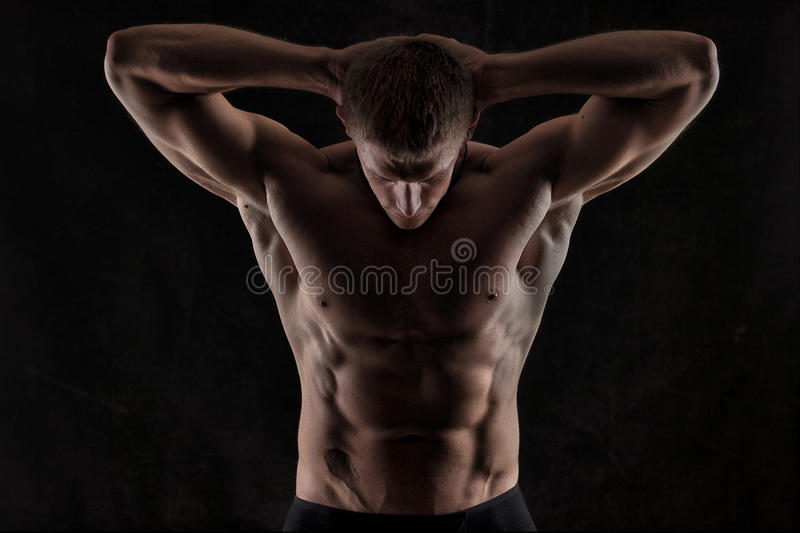 Athletic man royalty free stock images