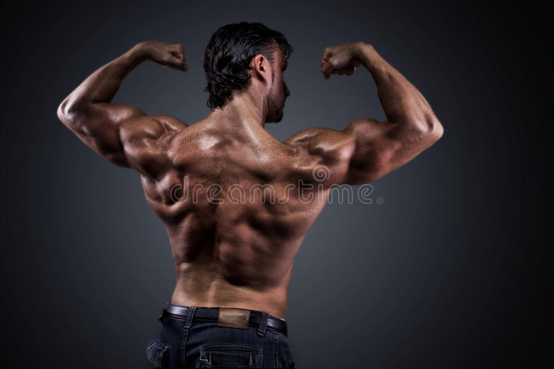 Download Athletic man stock photo. Image of shoulder, hand, athlete - 15913964