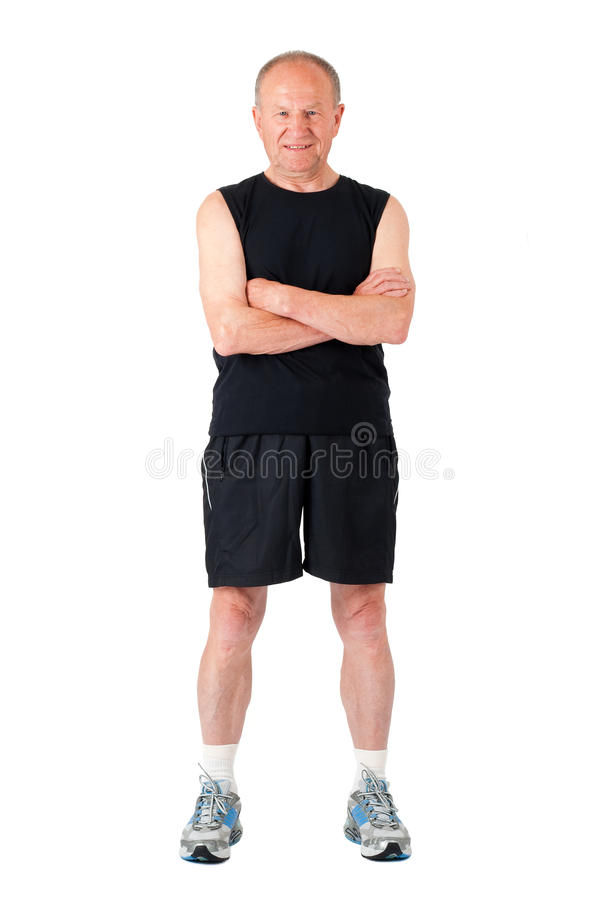 Download Athletic Senior Man Stock Photos - Image: 12379503