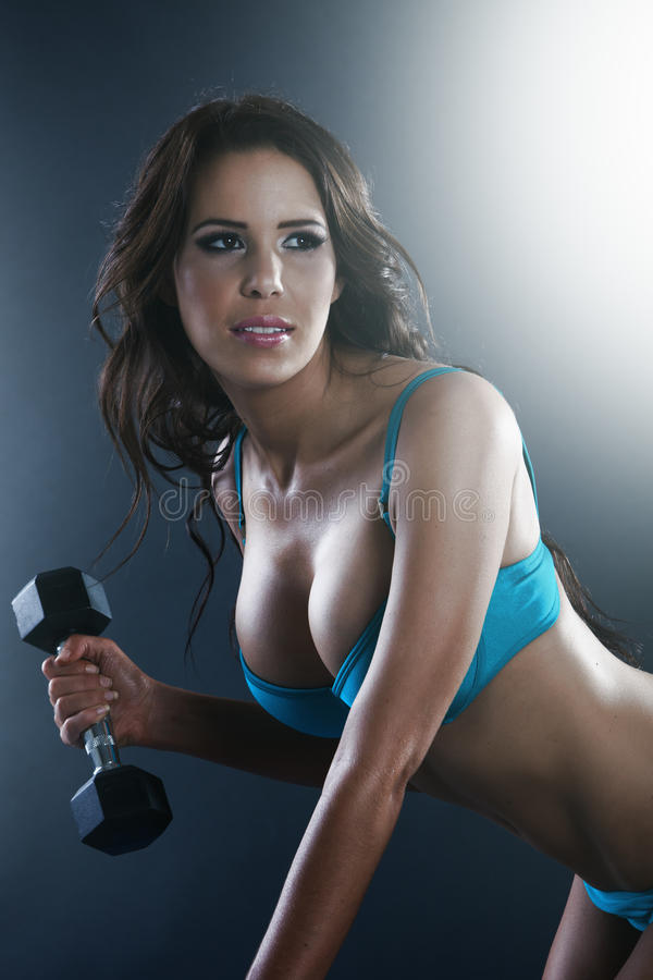 Download Athletic Young Lady Doing Workout Stock Image - Image: 28870363