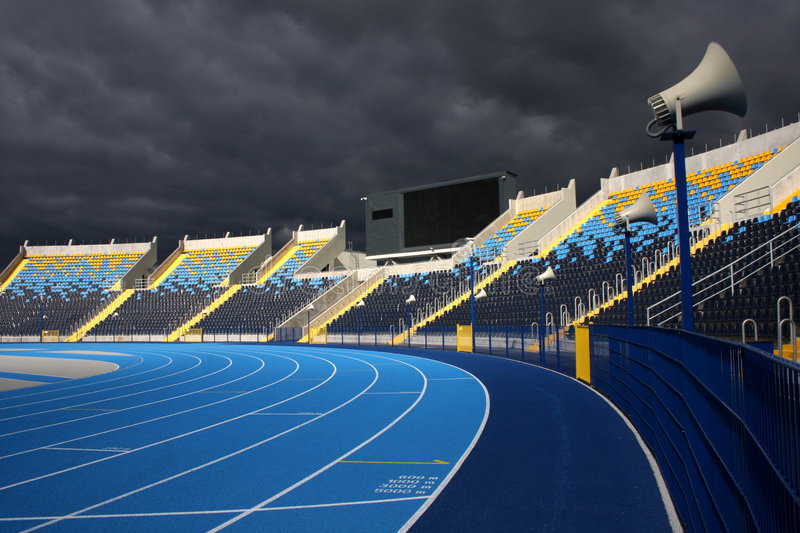 Download Athletic Stadium Royalty Free Stock Photos - Image: 6480458