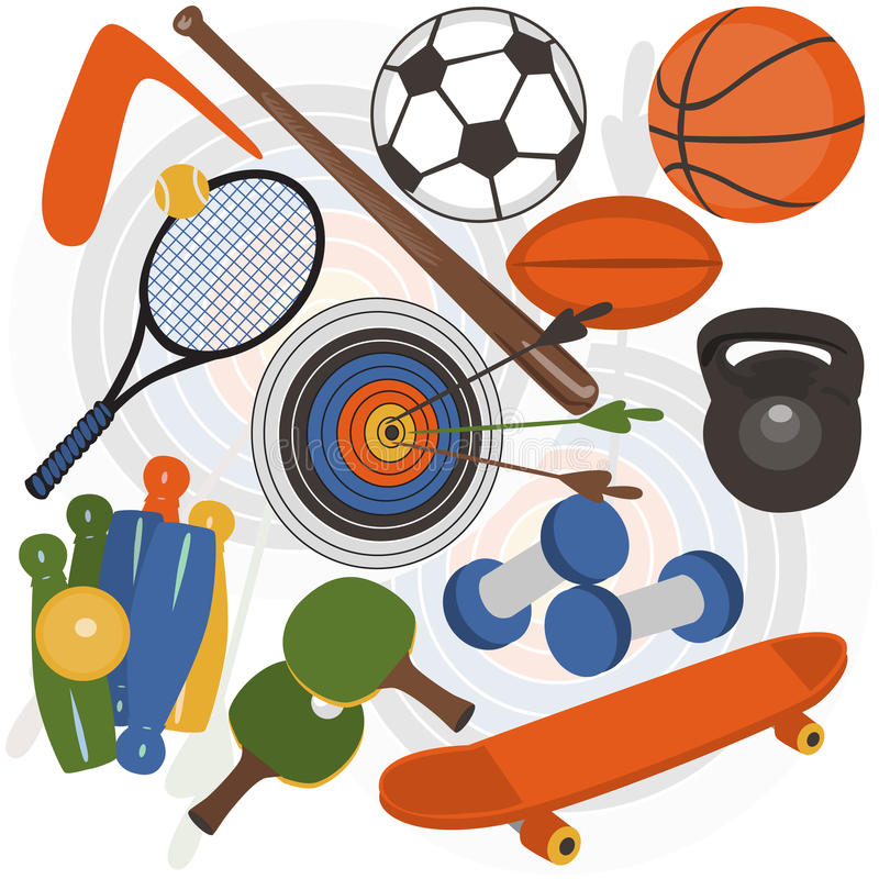 Athletic Stock royalty free stock image