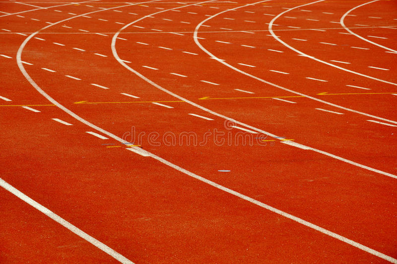 Download Athletic Track Stock Photography - Image: 25501562