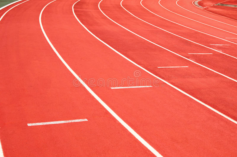 Download Athletic track stock photo. Image of olympiad, racetrack - 26454886