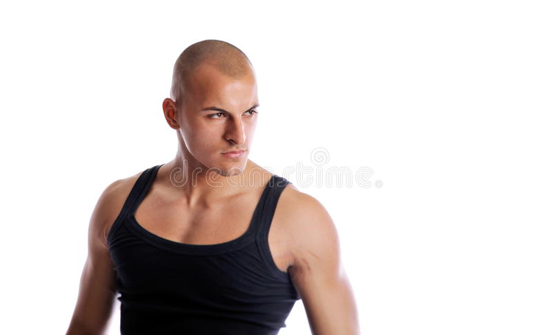 Athletic young man royalty free stock photo