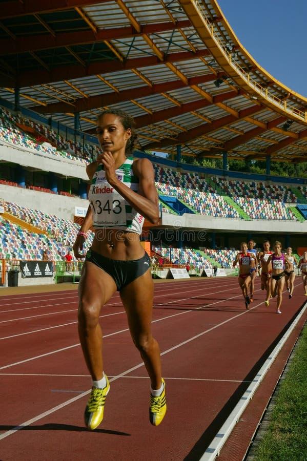 Athletics Championship, Sandra Teixeira Editorial Photo