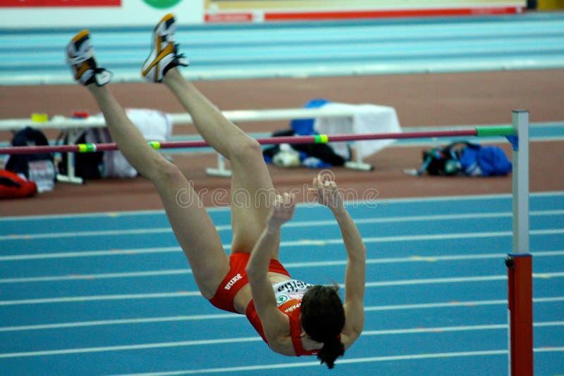 athletics championships european indoor στοκ εικόνα με δικαίωμα ελεύθερης χρήσης