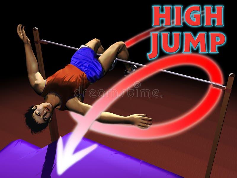 Download Athletics High jump stock illustration. Illustration of clear - 18559377