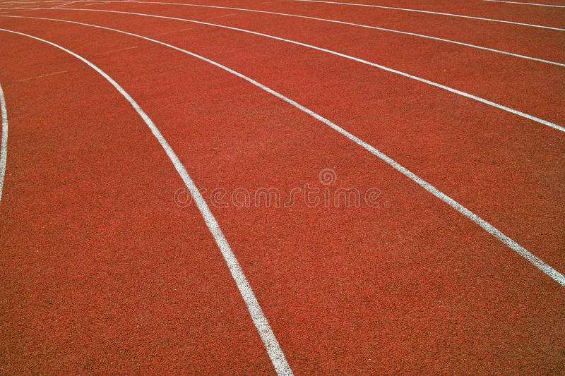 Download Athletics running track stock photo. Image of team, rounds - 14114728