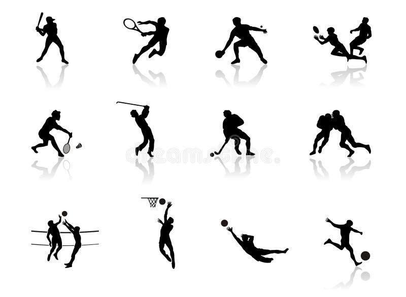 Athletik lizenzfreie abbildung
