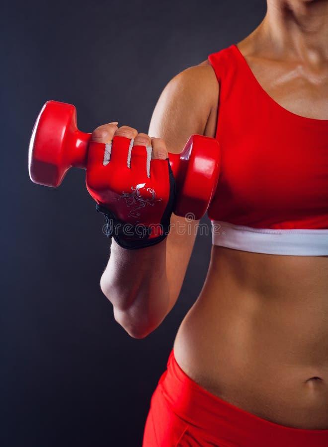 Download Athletische Frau stockbild. Bild von aktiv, menschlich - 26357637