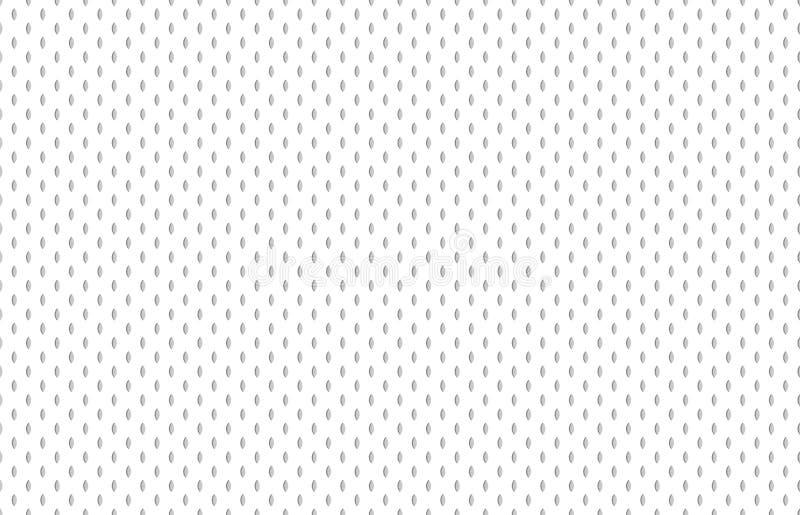Athletische Gewebebeschaffenheit Fußballhemdstoff, strukturierte Sportgewebe oder Sporttextilnahtloses Vektormuster vektor abbildung