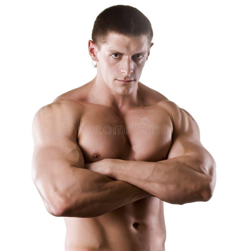 Athletischer Mann stockfoto