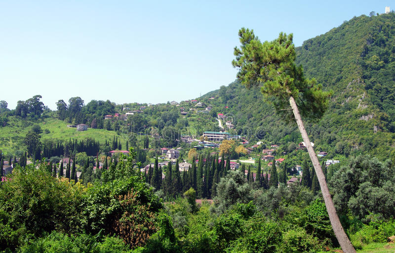 athos νέα Αμπχαζία στοκ φωτογραφία με δικαίωμα ελεύθερης χρήσης