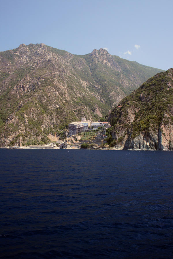 Download Athos mountain stock image. Image of alone, culture, history - 9823671