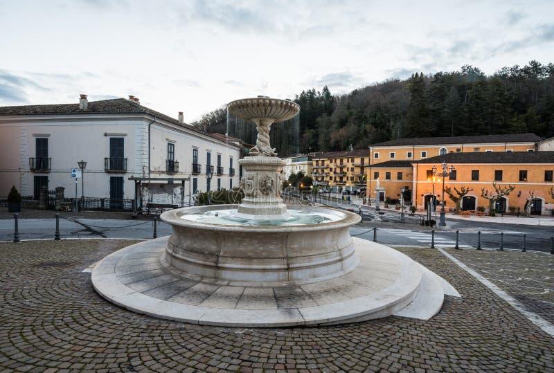 Atina Valle di Comino, Ciociaria, Italien royaltyfri foto
