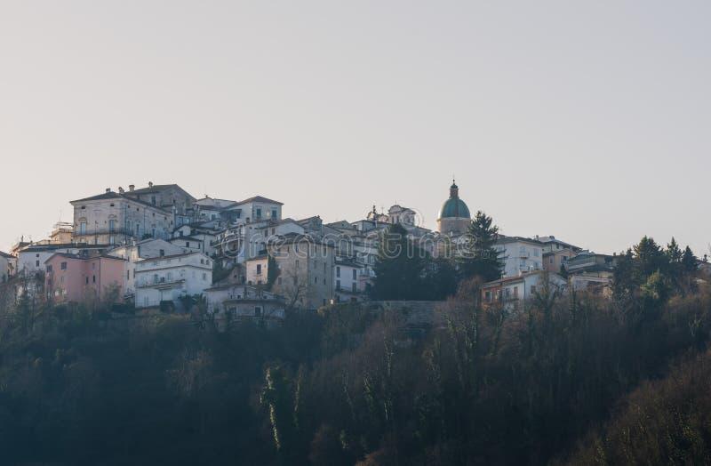 Atina Valle di Comino, Ciociaria, Italien fotografering för bildbyråer