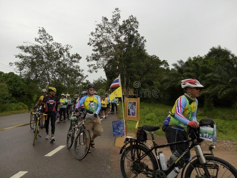 Atividade da bicicleta fotografia de stock