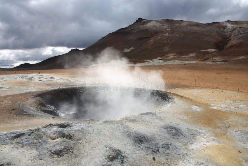 Atividade Geothermal fotografia de stock