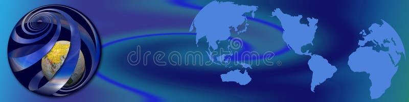 Atividades mundiais ilustração do vetor